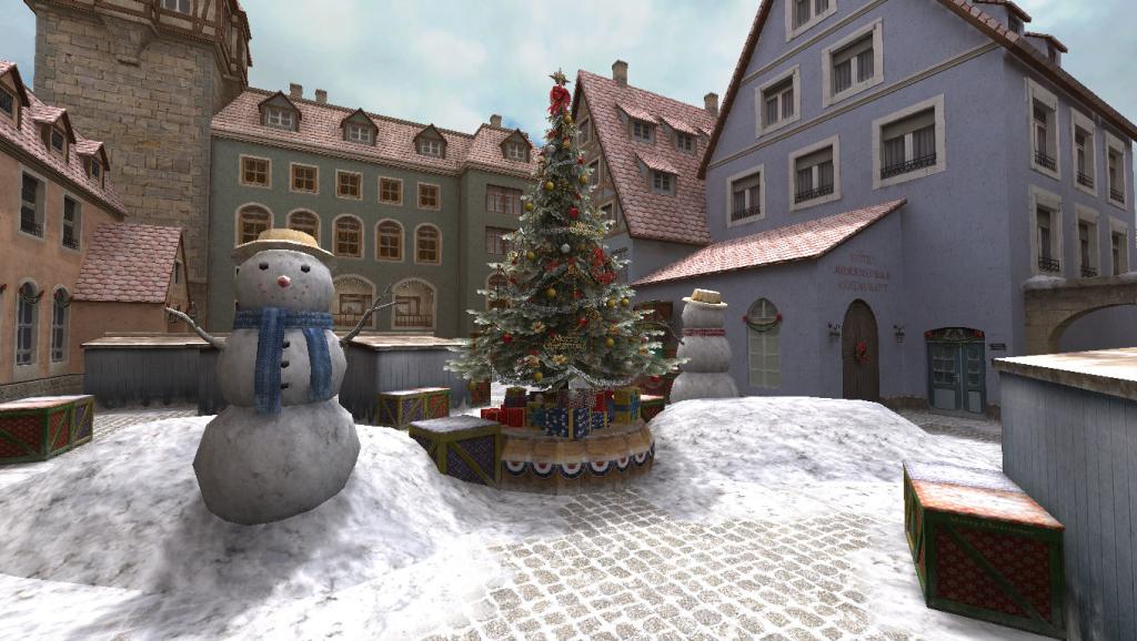 PointBlank_map natal rothen village pohon natal dan manusia salju