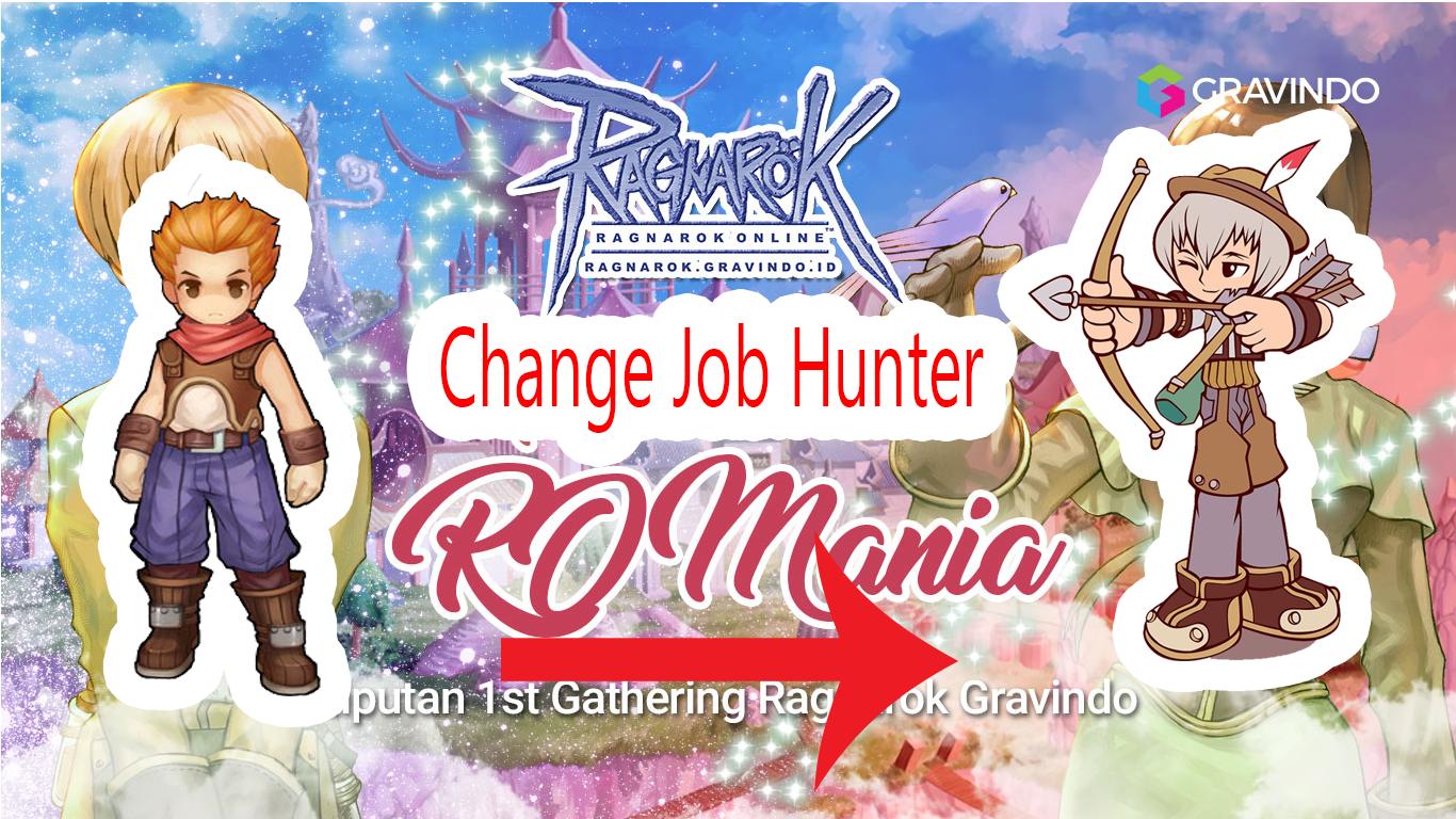 , change-job-archer-to-hunter, Video Quest Berubah Job Hunter di Ragnarok Online Indonesia Gravindo yang RO Classic