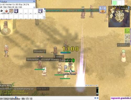 Streaming Ragnarok Online Gravindo Malem Minggu Pertama