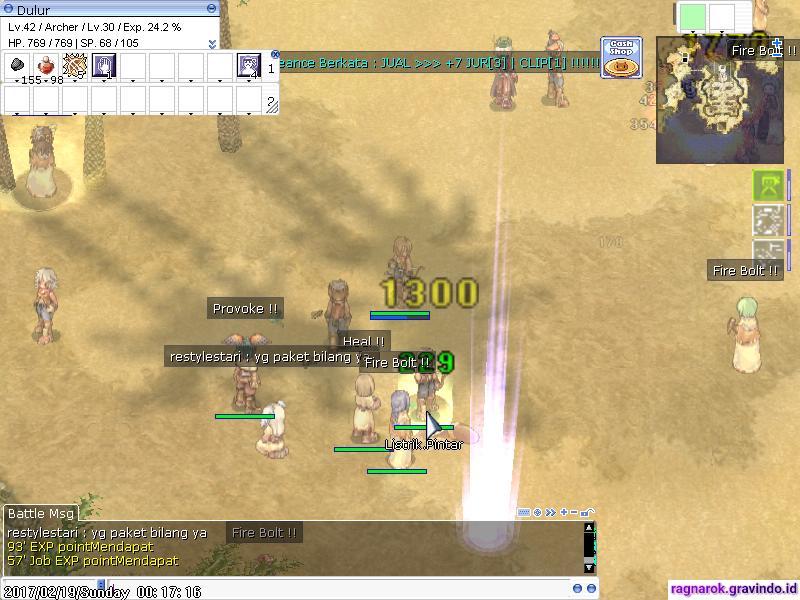 Ragnarok Online , screenCHAOS013, Streaming Ragnarok Online Gravindo Malem Minggu Pertama
