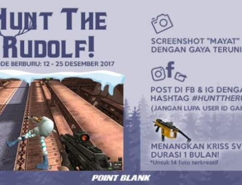 Event: Hunt The Rudolf! Dapat Gratis Kriss SV Gold 1 Bulan!